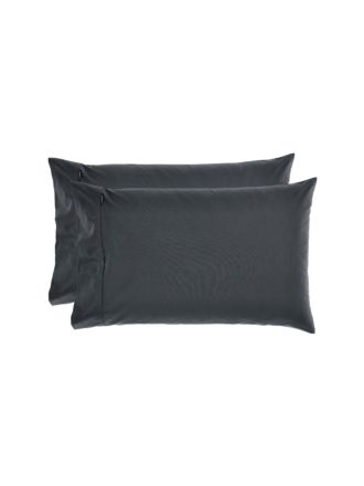 Winton Charcoal Standard Pillowcase Pair