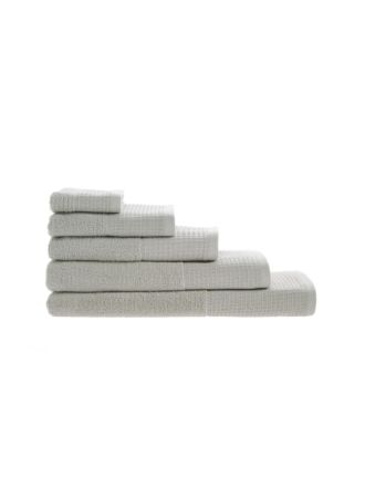 Zone Silver Towel Collection