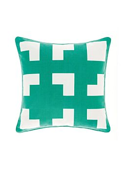 Meta Green Cushion 45x45cm