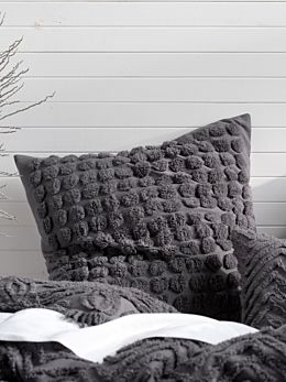 Fog Charcoal European Pillowcase